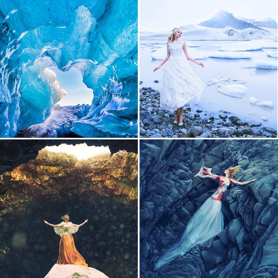 Miss Aniela Iceland Fashion Shoot Experience