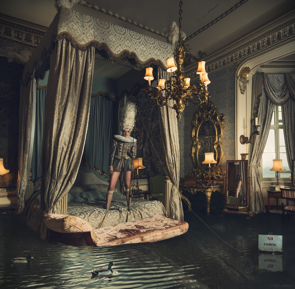 Photography & production: Miss Aniela / Model: Sanna Takalampi / Hair: Ceri Cushen & Julija Baranova / Makeup: Morgan Defre / Stylist: Minna Attala