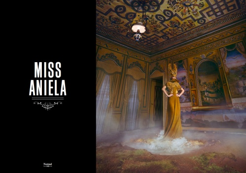 MISS ANIELA NORMAL MAGAZINE SURREAL FASHION