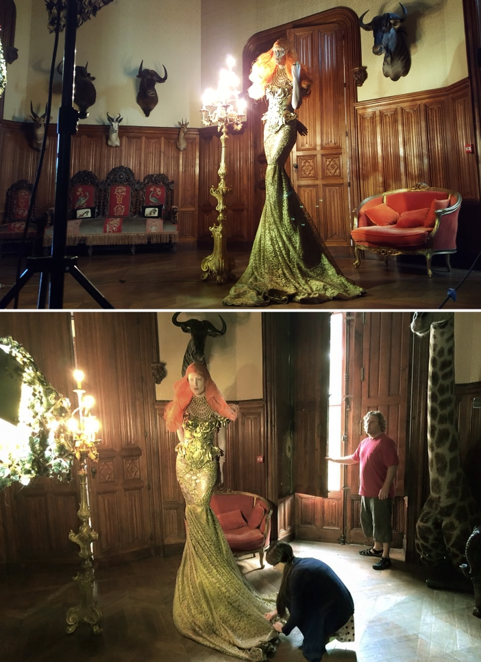 bts DAWN TREADER MONTAGE 2 PREVIEW MISS ANIELA SURREAL FASHION